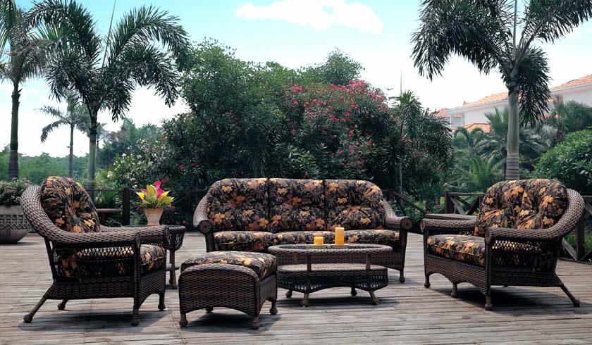 Tuscany Wicker Sofa Group Patio Renaissance Outdoor