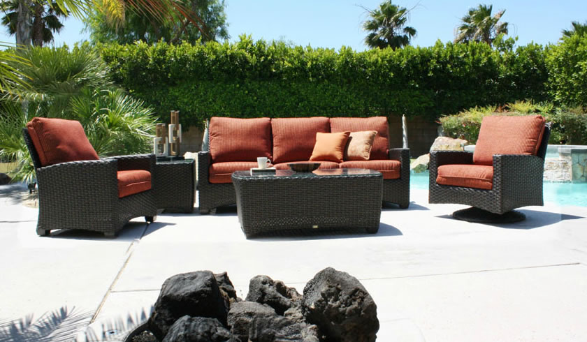 Ventura wicker leisure group patio renaissance outdoor for Outdoor furniture 28277