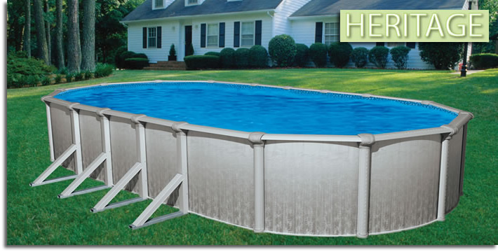 Heritage Aboveground Swimming Pools Oasis Pools Plus Of Charlotte Nc Outdoor Wicker