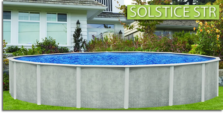 Solstice Str Aboveground Swimming Pools Oasis Outdoor Of