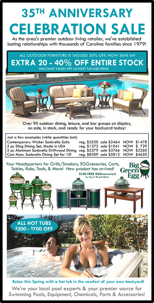 35th-Anniversary-Celebratio-&-Sale-Oasis-Pools-Plus-Outdoor-Furniture-Charlotte-NC