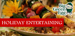 Big Green Egg Holiday Entertaining Guide