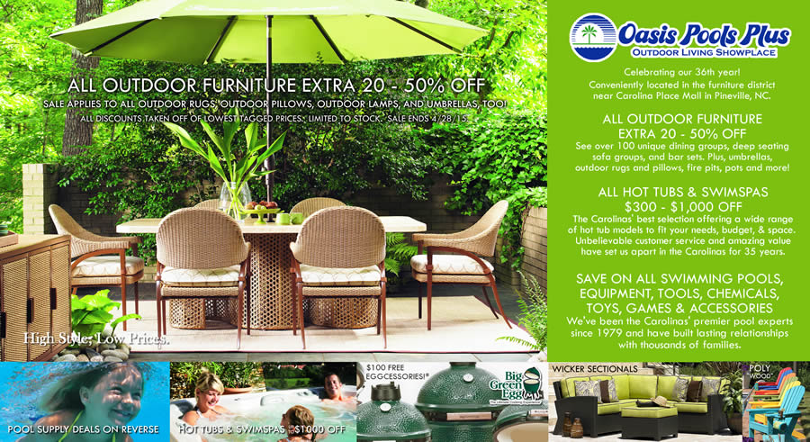 Furniture Pineville Nc ... NC | Outdoor, Wicker & Patio Furniture, Hot Tubs, Swimspas, Pools
