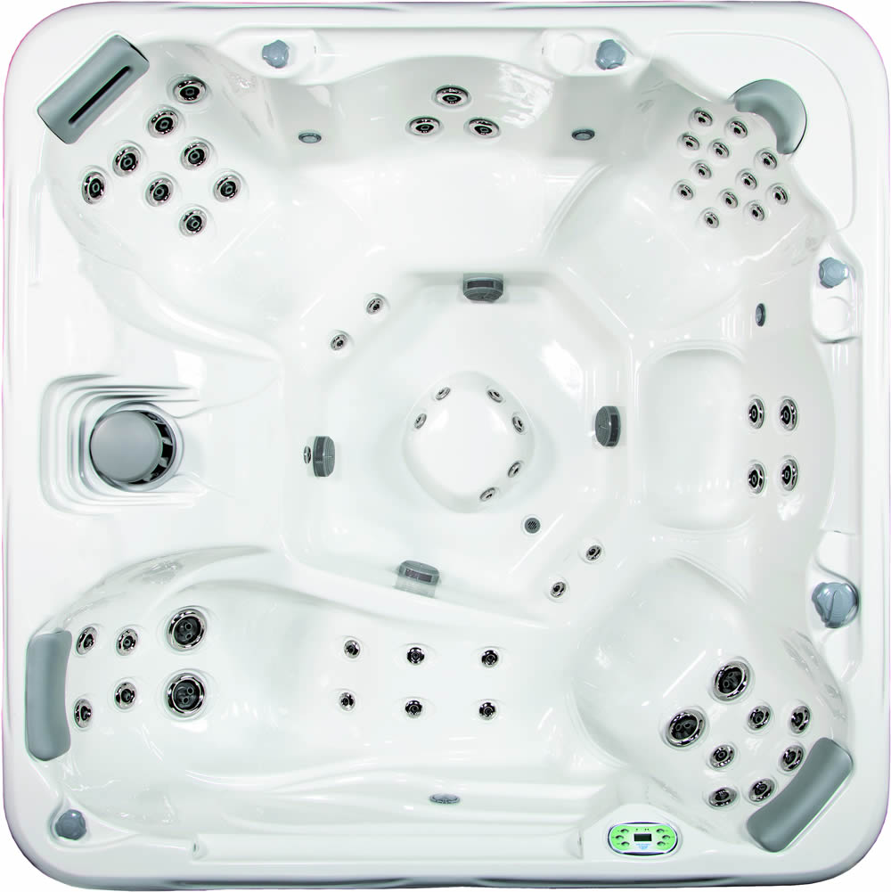 860L 6-person Hot Tub with Lounge by South Seas Spas