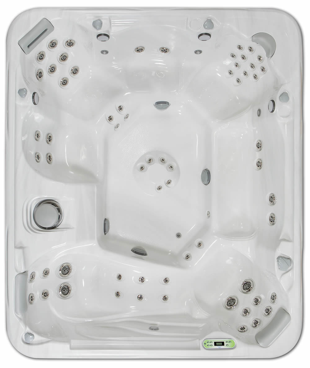 The 965L Is The Newest And Largest South Seas Spas Model. Enjoy This Spa  With Up To 8 Of Your Friends And Family. The Optional Stereo System  Includes 4 ...