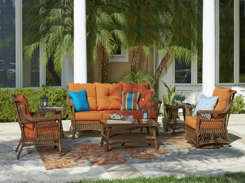 Bar Harbor Outdoor Wicker Furniture Collection by North Cape (NCI) Wicker