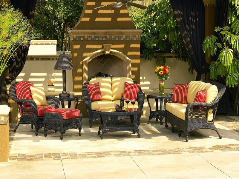 Charleston Outdoor Wicker Furniture Collection by North Cape (NCI) Wicker