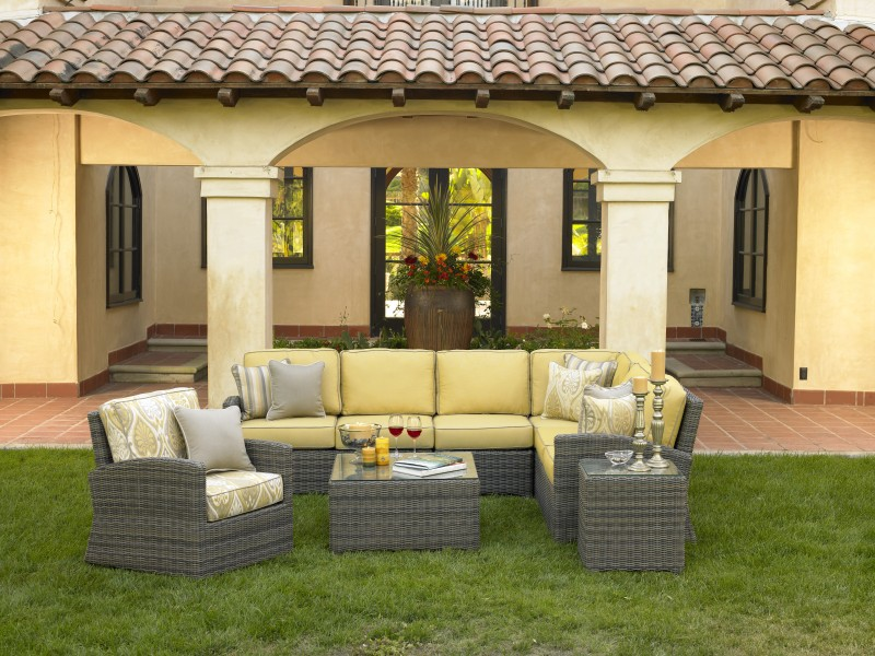 Bainbridge Outdoor Wicker Furniture Collection by North Cape (NCI) Wicker