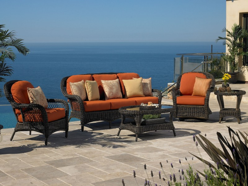 Berkshire Outdoor Wicker Furniture Collection by North Cape (NCI) Wicker