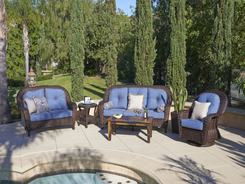 North Cape Wicker Outdoor Patio Furniture — Oasis Pools