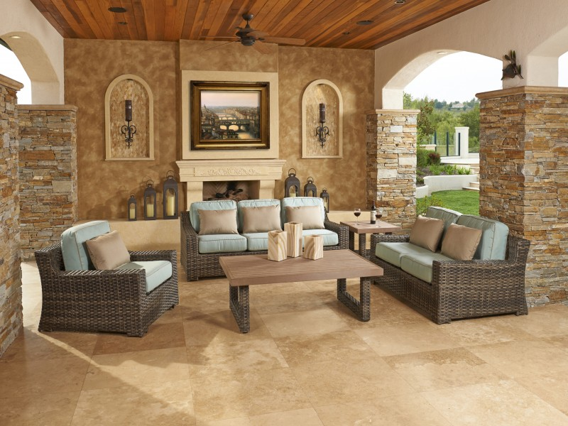Concord Outdoor Wicker Furniture Collection by North Cape (NCI) Wicker