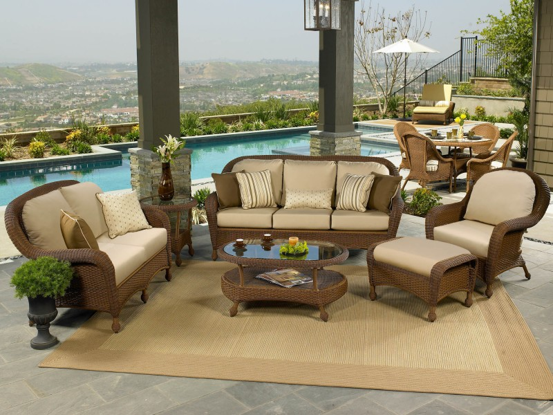 monaco outdoor wicker furniture collection by north cape nci wicker - Resin Wicker Patio Furniture