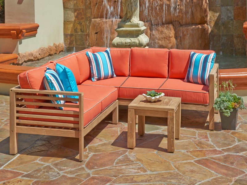 Promenade Teak Outdoor WFurniture Collection by North Cape (NCI) Wicker