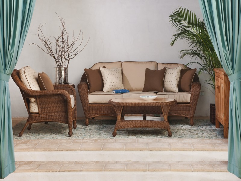 Tidewater Outdoor Wicker Furniture Collection by North Cape (NCI) Wicker