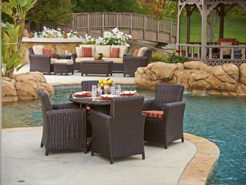 Tisdale Outdoor Wicker Furniture Collection By North Cape Nci Wicker With Wicker  Furniture