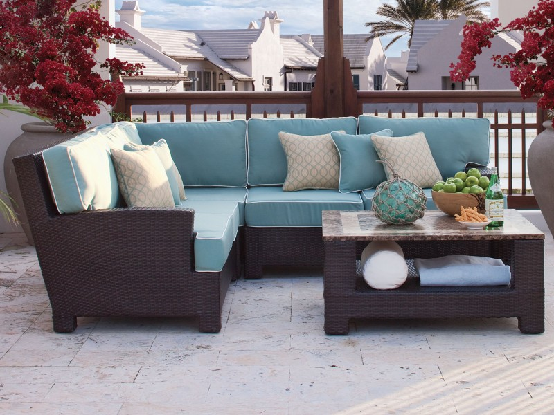 Tybee Outdoor Wicker Furniture Collection by North Cape (NCI) Wicker