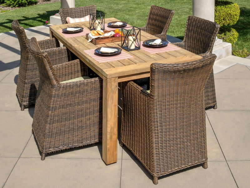 Vienna Outdoor Wicker Furniture Collection by North Cape (NCI) Wicker