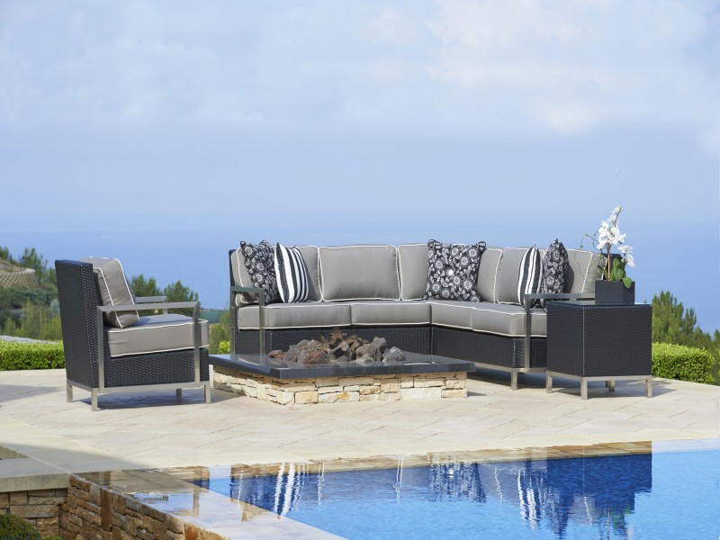Visions Outdoor Wicker / AluminumFurniture Collection by North Cape (NCI) Wicker