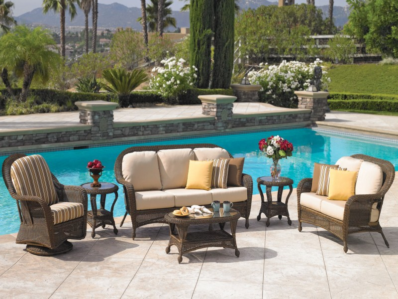 Wyndham Outdoor Wicker Furniture Collection by North Cape (NCI) Wicker
