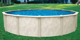Opera Round Above Ground Swimming Pool