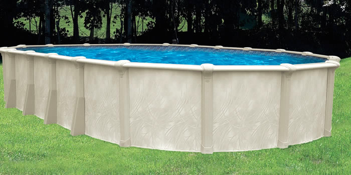 Opera STR Oval Above Ground Swimming Pool — Oasis Outdoor of ...