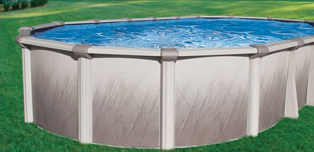 Morada RTR Oval Above Ground Swimming Pool - Oasis Pools Plus of Charlotte, NC