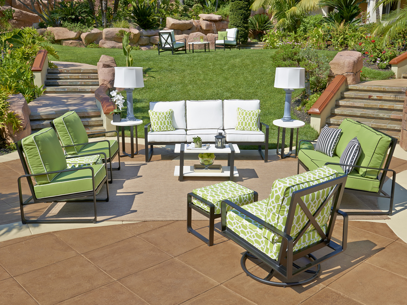 North Haven Collection Aluminum Outdoor Furniture By Libby Langdon For  North Cape Wicker