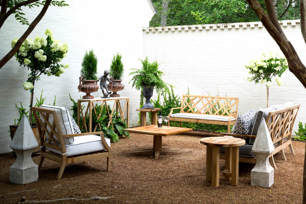 HALEY Teak Lounge Collection by Summer Classics Outdoor Furniture