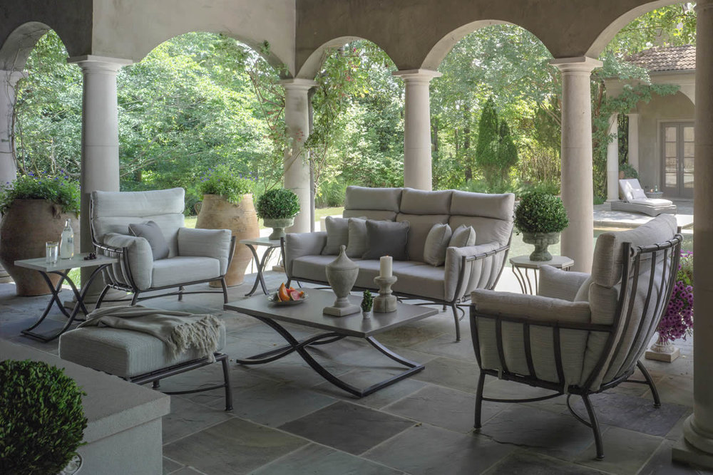MAJORCA Aluminum Metal Lounge Collection by Summer Classics Outdoor Furniture