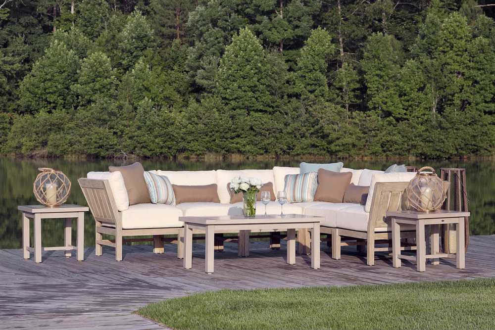 CLUB Teak Lounge Collection by Summer Classics Outdoor Furniture