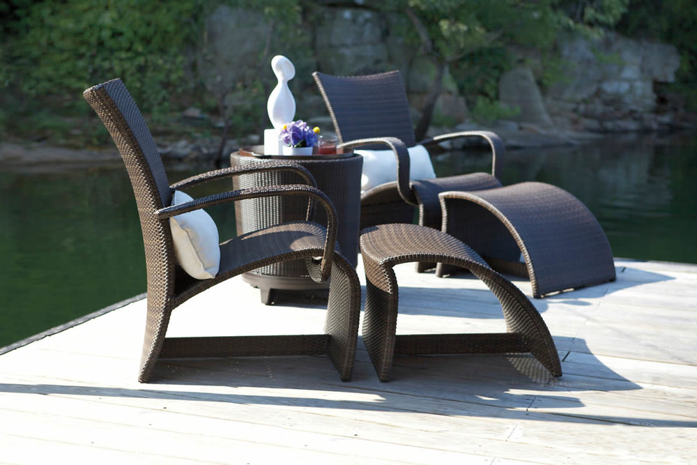 HALO Wicker Lounge & Dining Collections by Summer Classics Outdoor Furniture