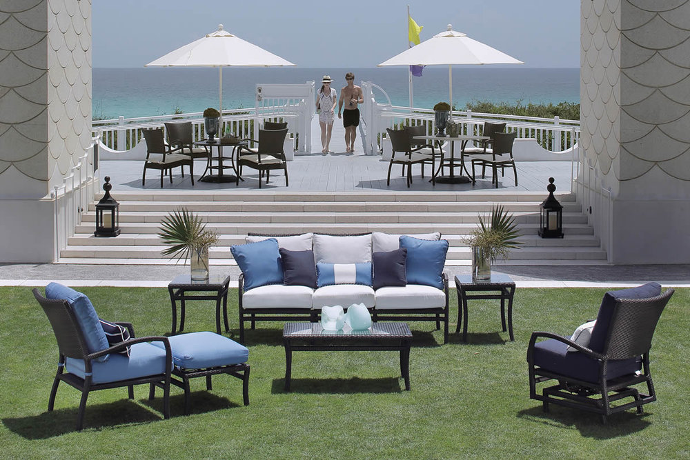 SKYE Wicker Lounge & Dining Collections by Summer Classics Outdoor Furniture