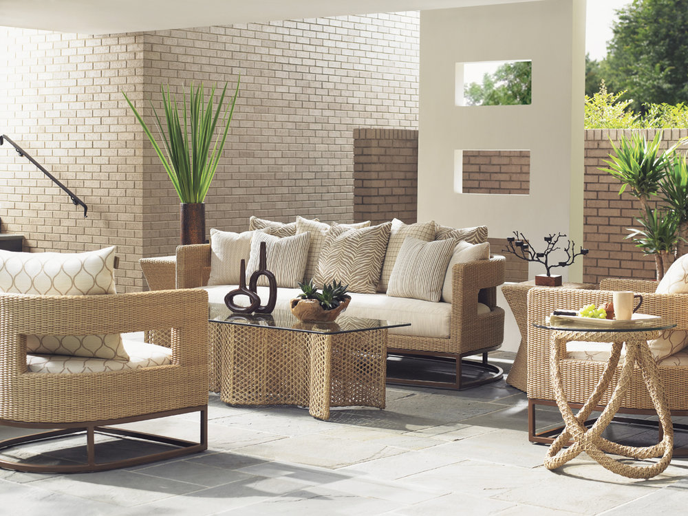 AVIANO Wicker/Aluminum Lounge Collection by Tommy Bahama Outdoor Furniture