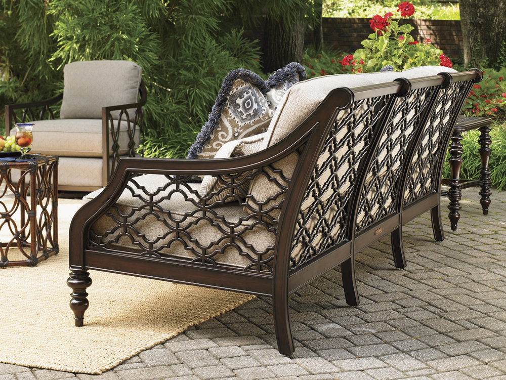 BLACK SANDS Aluminum Lounge Collection by Tommy Bahama Outdoor Furniture
