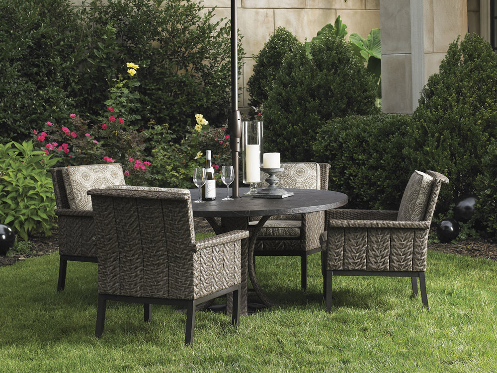 BLUE OLIVE Wicker Dining Collection By Tommy Bahama Outdoor Furniture