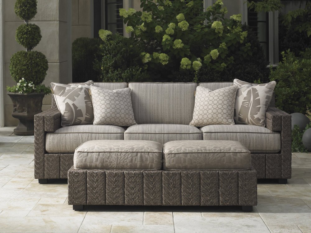 BLUE OLIVE Wicker Lounge Collection by Tommy Bahama Outdoor Furniture
