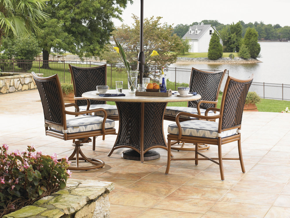 ISLAND ESTATE LANAI Wicker / Rattan / Aluminum Dining Collection by Tommy Bahama Outdoor Furniture