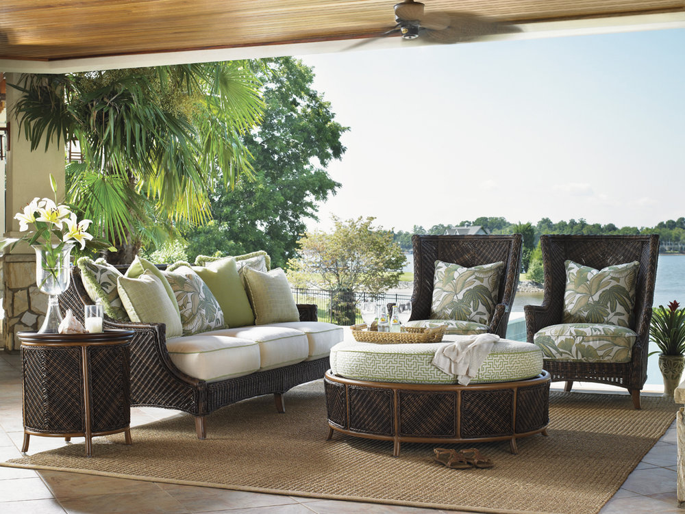 ISLAND ESTATE LANAI Wicker / Rattan / Aluminum Lounge Collection by Tommy Bahama Outdoor Furniture