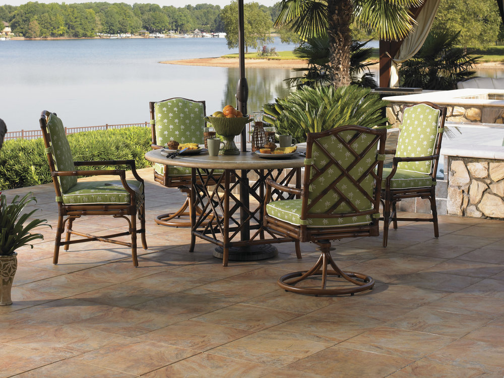ISLAND ESTATE VERANDA Wicker / Rattan / Aluminum Dining Collection by Tommy Bahama Outdoor Furniture