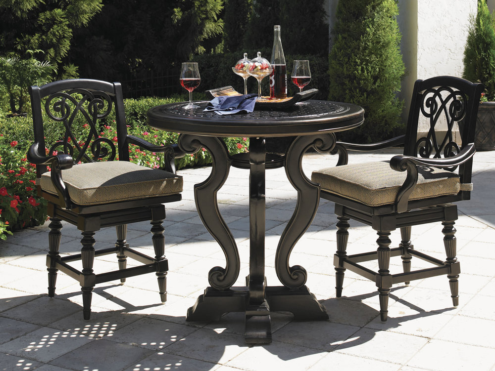 KINGSTOWN SEDONA Aluminum Dining Collection by Tommy Bahama Outdoor Furniture
