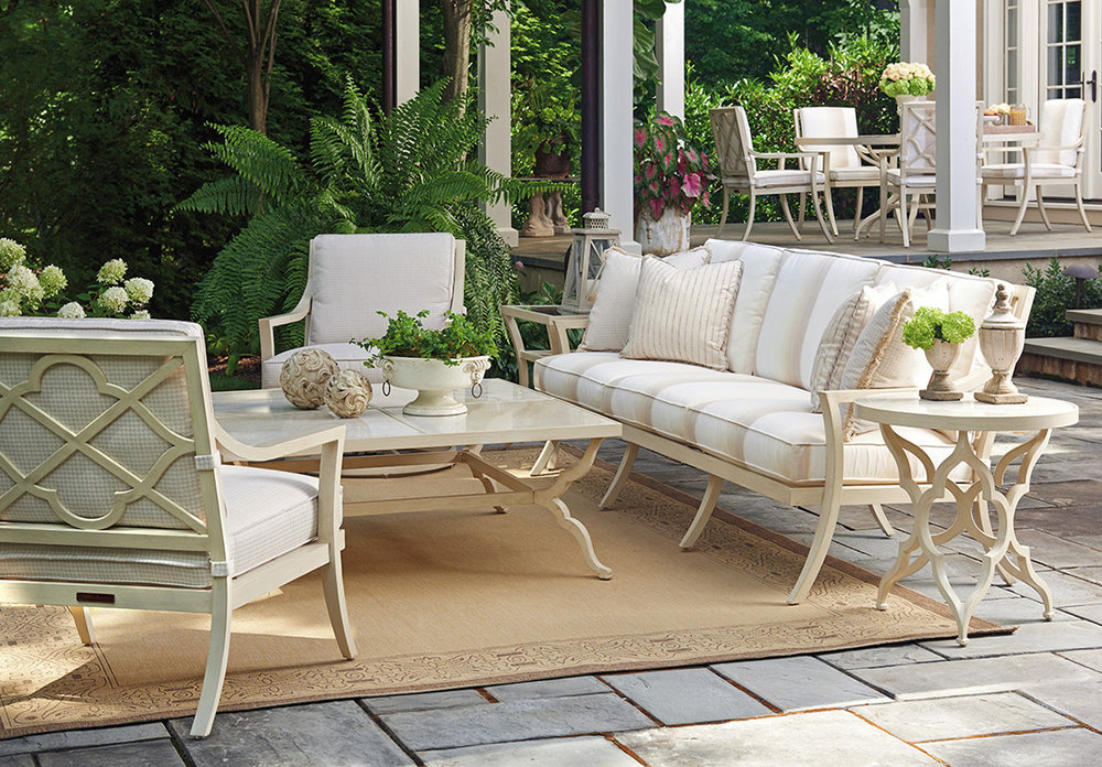 MISTY GARDEN Aluminum Lounge Collection from Tommy Bahama Outdoor Furniture