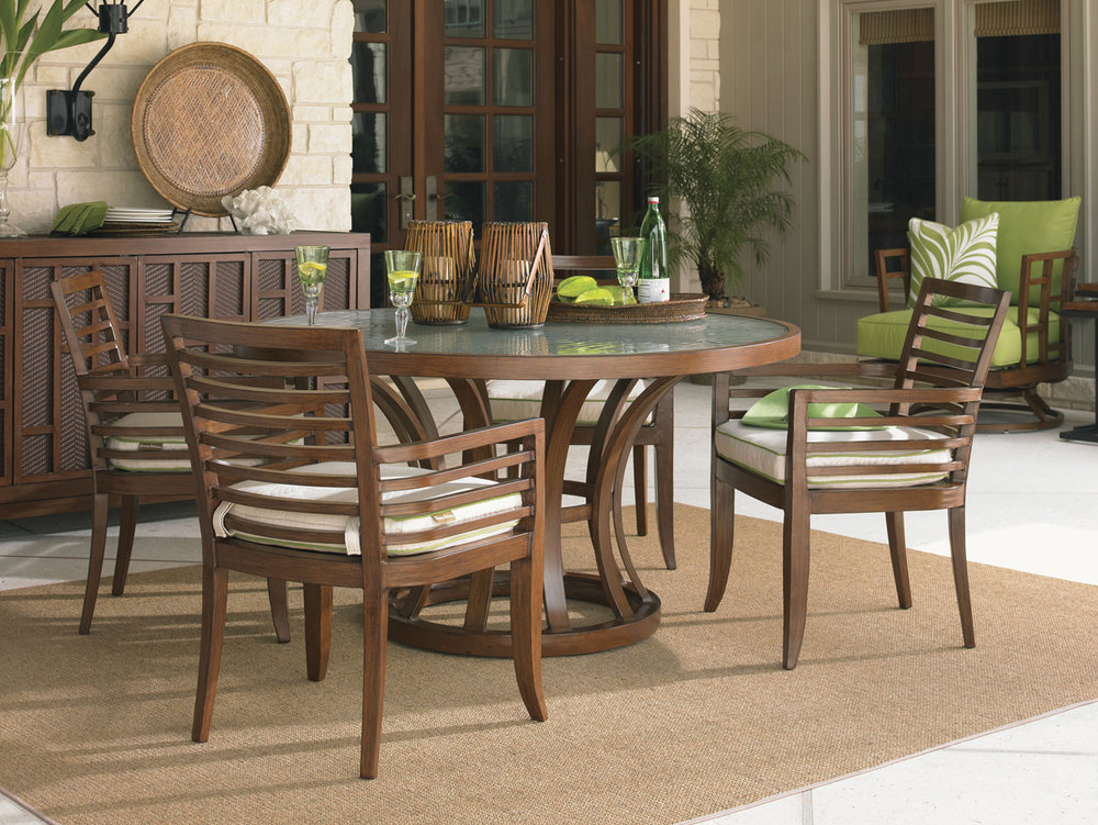 OCEAN CLUB PACIFICA Aluminum Dining Collection by Tommy Bahama Outdoor Furniture