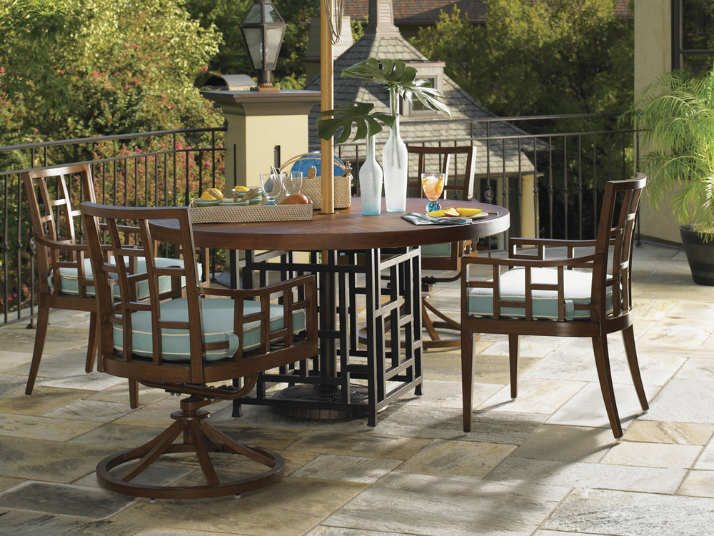 OCEAN CLUB RESORT Aluminum Dining Collection by Tommy Bahama Outdoor Furniture