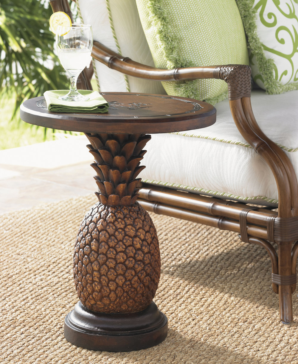 ALFRESCO LIVING Pineapple Table by Tommy Bahama Outdoor Furniture