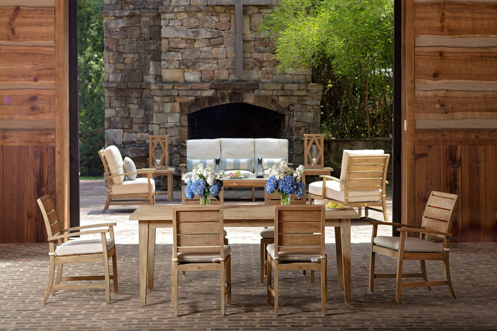 CHARLESTON Teak Outdoor Furniture Collection