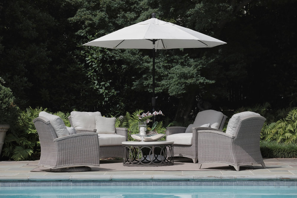 ASTORIA Wicker Outdoor Furniture Collection by Summer Classics