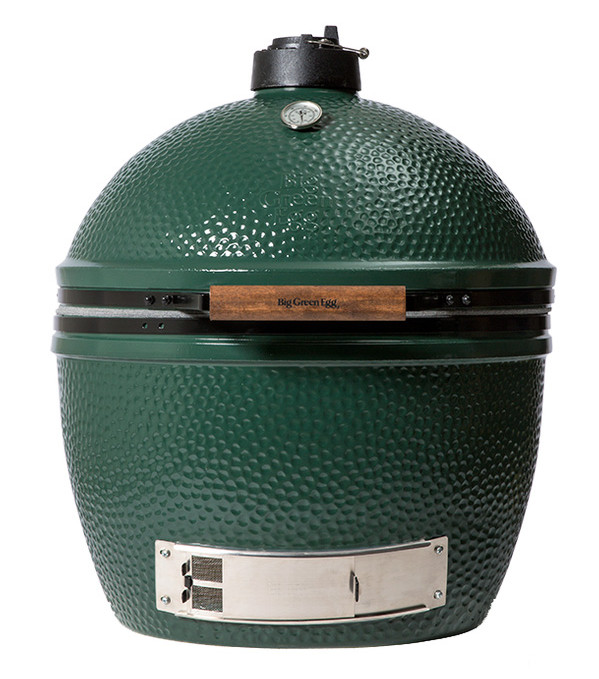EXTRA LARGE (XL)Big Green Egg Smoker Grill - Specs:Grid Diameter: 24 inCooking Area: 452 sq inWeight: 219 lbsThe XLarge Big Green Egg can cook: 2 20-pound turkeys, 24 burgers, 11 whole chickens, 12 steaks, or 12 racks of ribs vertically