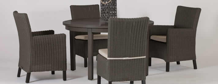 ALYSSA Wicker Dining Collection by Summer Classics Private Label Outdoor Furniture