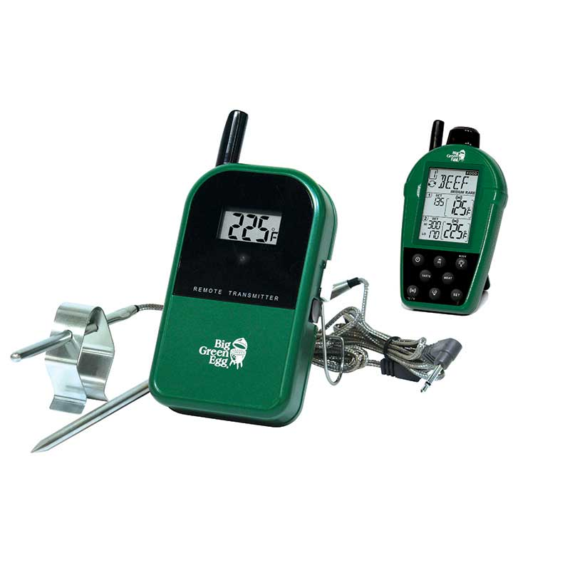 Temperature Gauge - Dual Probe Wireless Thermometer - Big Green Egg