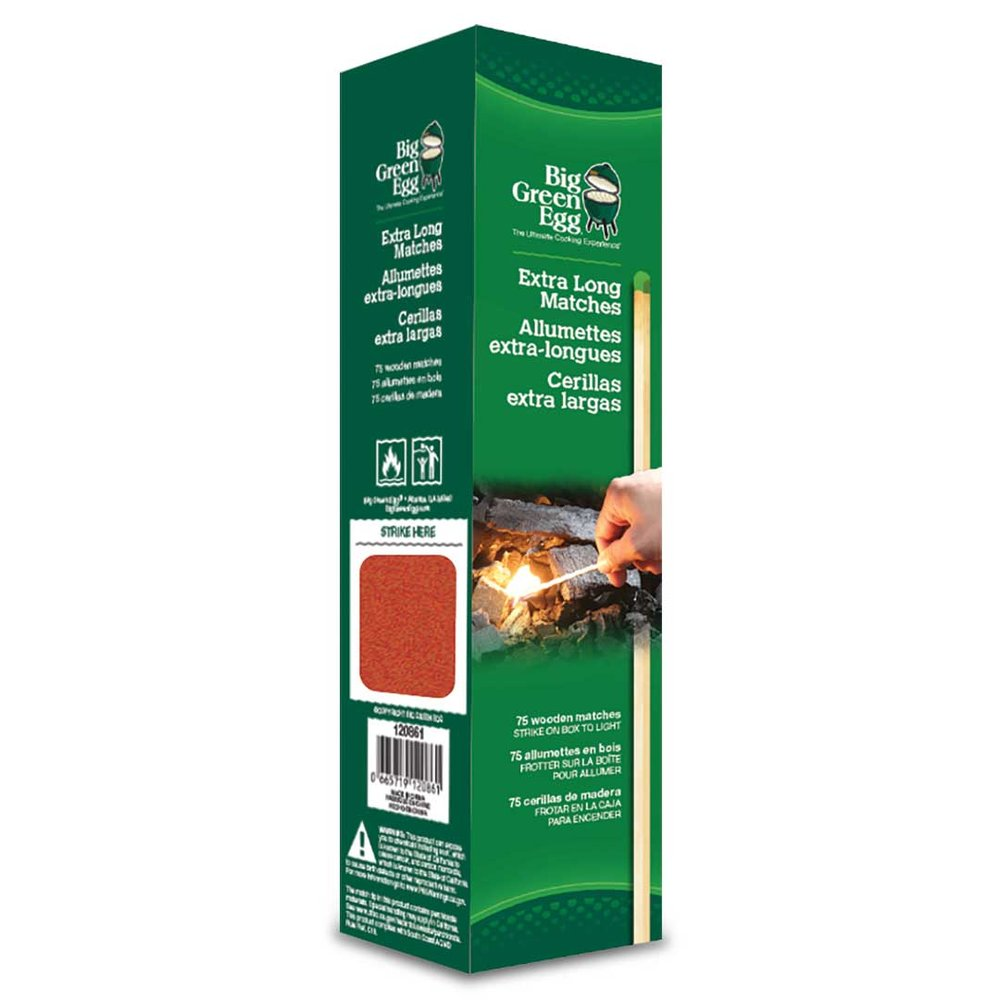 NEW!  Extra Long Matches - Big Green Egg